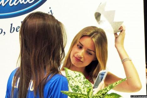 Miss Italia Giulia Arena Acqua Rocchetta CIBUS Parma