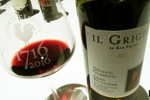Chianti Classico Il Grigio San Felice Wine Enthusiast Best Wine in the World 2015