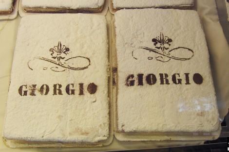 Schiacciata alla Fiorentina - Pasticceria Giorgio Firenze