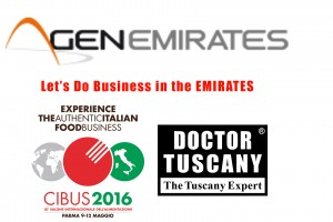 Emirati Arabi Dubai a CIBUS: Let's Do Business in the EMIRATES
