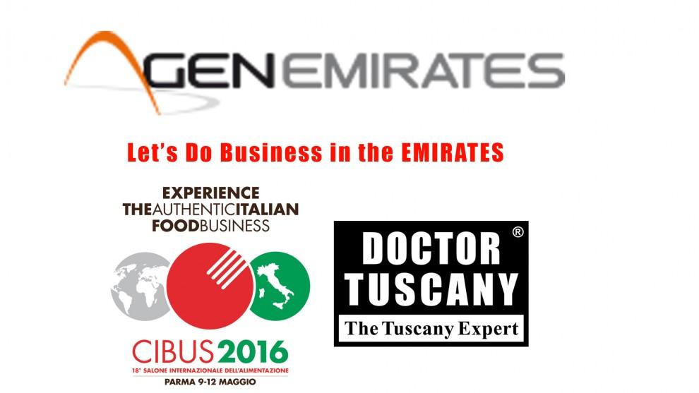 Emirati Arabi Dubai a CIBUS: Let's Do Business in the EMIRATES