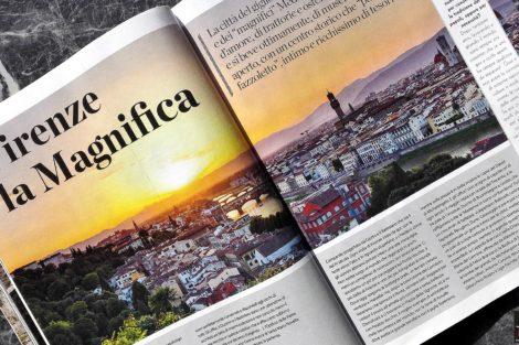Rivista Viaggiare con GustoSano Firenze