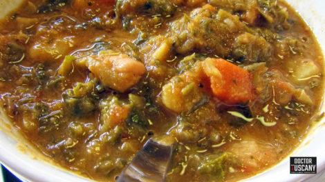 ribollita toscana zuppa verdure fagioli pane